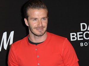 David Beckham about to get his first film role!