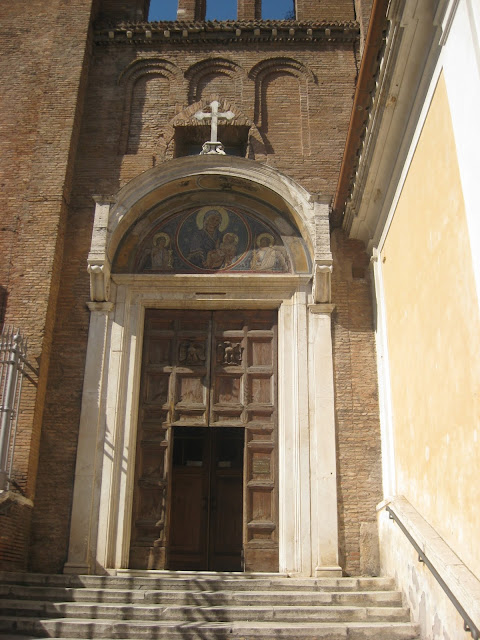 Santa Maria in Aracoeli's Entrance - by Madder Hatter