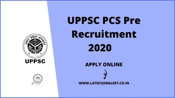 UPPSC PCS Pre Recruitment 2020 for ACF, RFO online form |Apply online