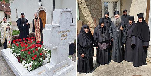 Патријарх српски Порфирије посетио манастир Раковицу (ФОТО)