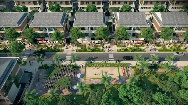 Phối cảnh dự án An Phú Shop Villa