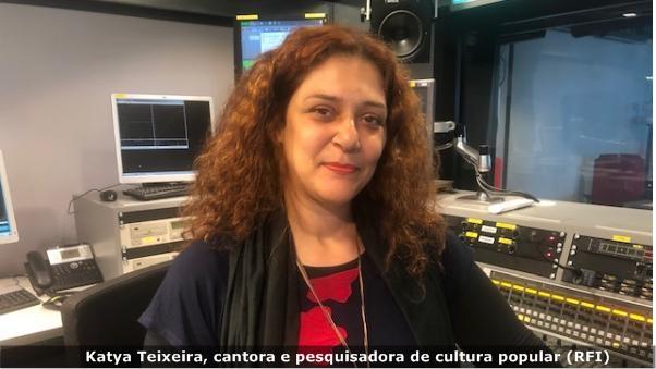 Cantora brasileira Katya Teixeira leva música de raiz para Europa