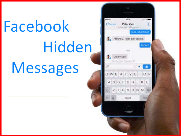 How to See Hidden Messages On Facebook
