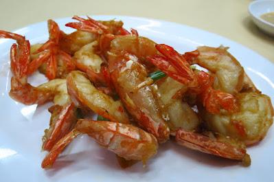 Ting Heng Seafood Restaurant, prawns