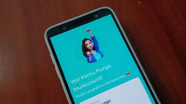 Aplikasi Bank Digital blu