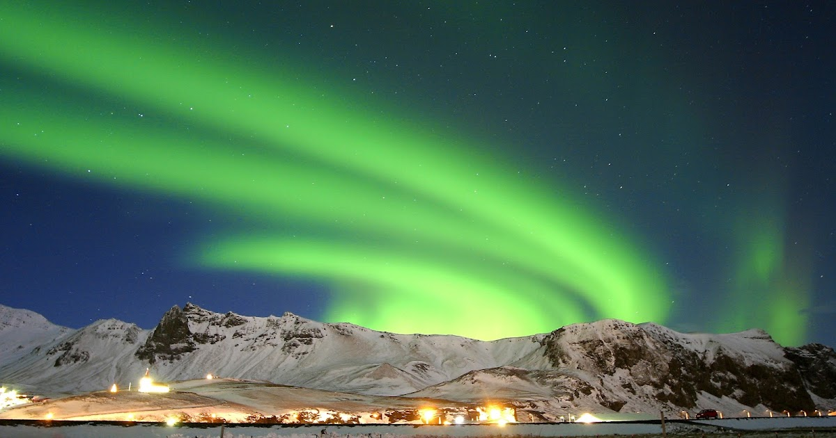 Chance Seeing Northern Lights Iceland