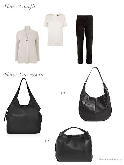 adding a handbag to a 4 by 4 Wardrobe