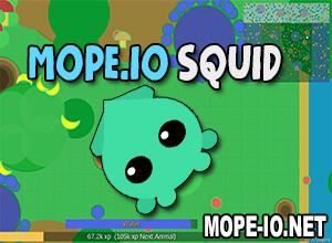 Mope.io Squid Guide