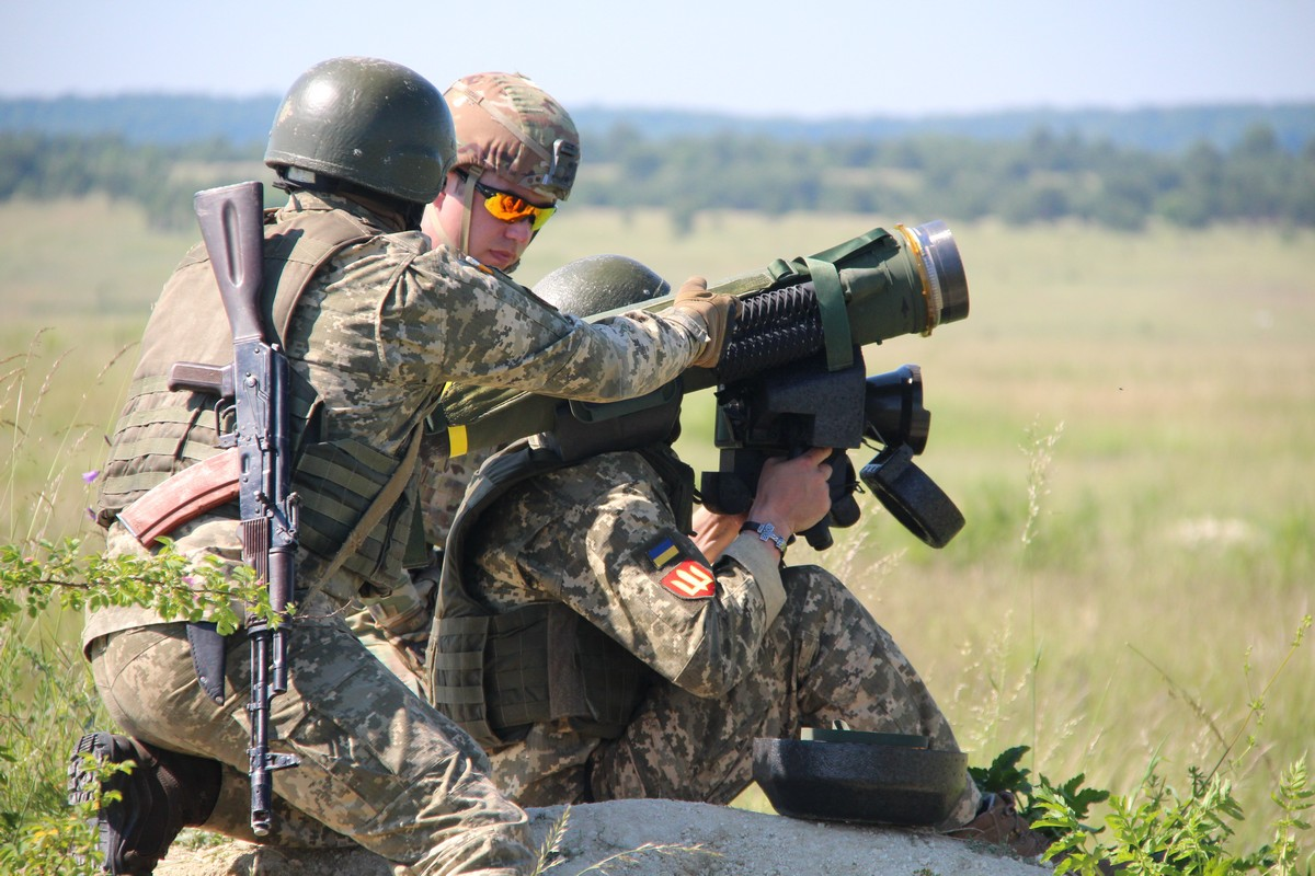 У Школі протитанкової артилерії запустили три десятки Джавелінів