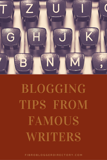 Writing tips from the rich and famous