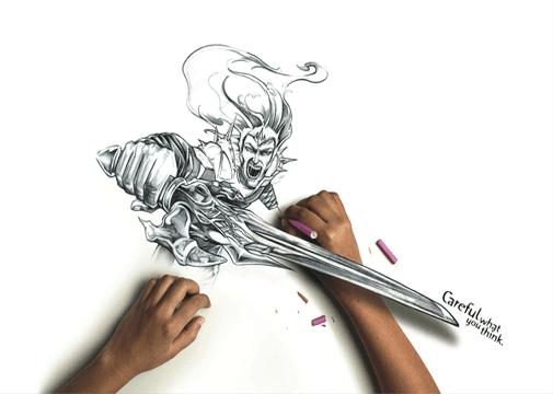 Drawing anime ♕: Drawing