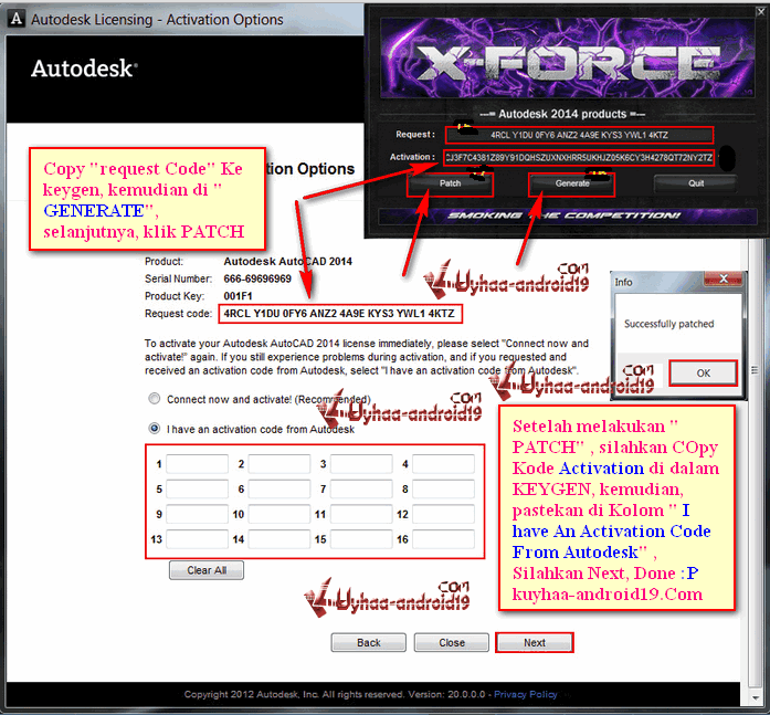 xforce keygen autocad 2015 32 bit  for windows 7