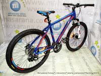 26 Inch Pacific Ascadia Branded Component Equipped 21 Speed HardTail Mountain Bike