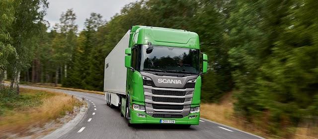 Scania'ya Üst Üste 5. Kez Yeşil Kamyon ödülü