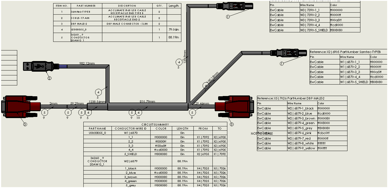 solidworkselectrical provides you the highly simplified auto routing of wire cables and harness and generate their reports automatically and enables last  [ 1350 x 656 Pixel ]