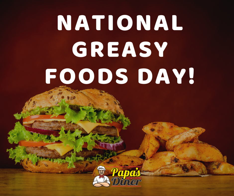 National Greasy Foods Day Wishes For Facebook