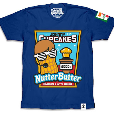 Johnny Cupcakes x Nutter Butter 50th Anniversary T-Shirt Collection