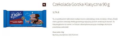 czekolada wedel gorzka 90 g