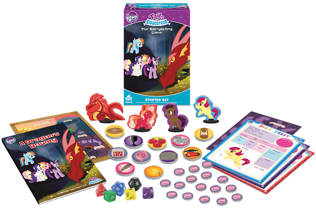 Details about MLP: Tails of Equestria Starter Set Emerge!