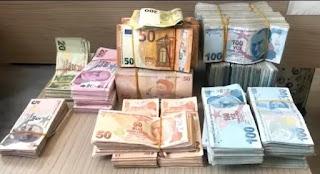 سعر الليرة التركية مقابل العملات الرئيسية الأربعاء 30/9/2020
