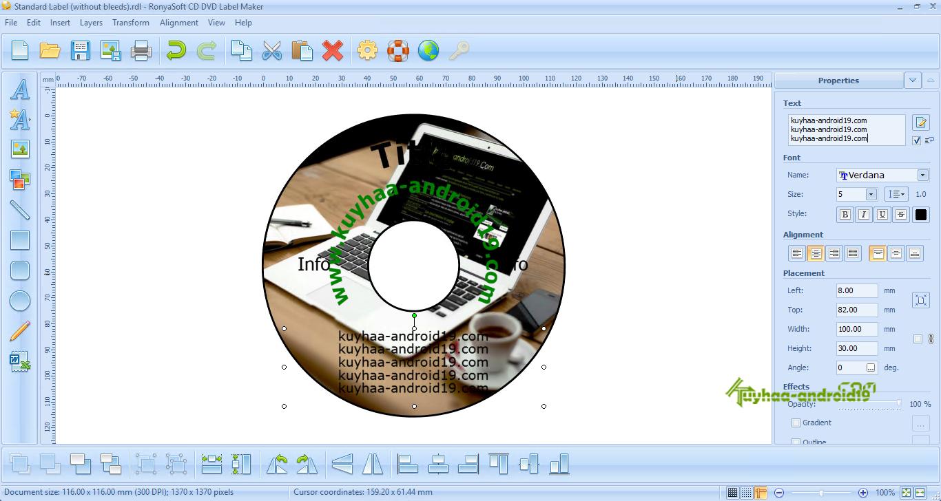 RonyaSoft CD DVD Label Maker kuyhaa