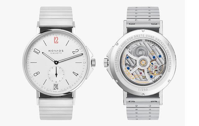 Nomos Glashuette Ahoi Datum ref. 551.S2 Doctors Without Borders Limited Edition
