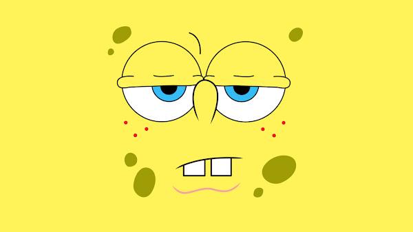 wallpaper spongebob marah