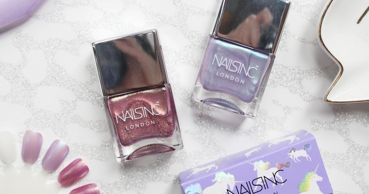 Nails Inc Sparkle Like A Unicorn Nail Polish Duo Hannah Heartss