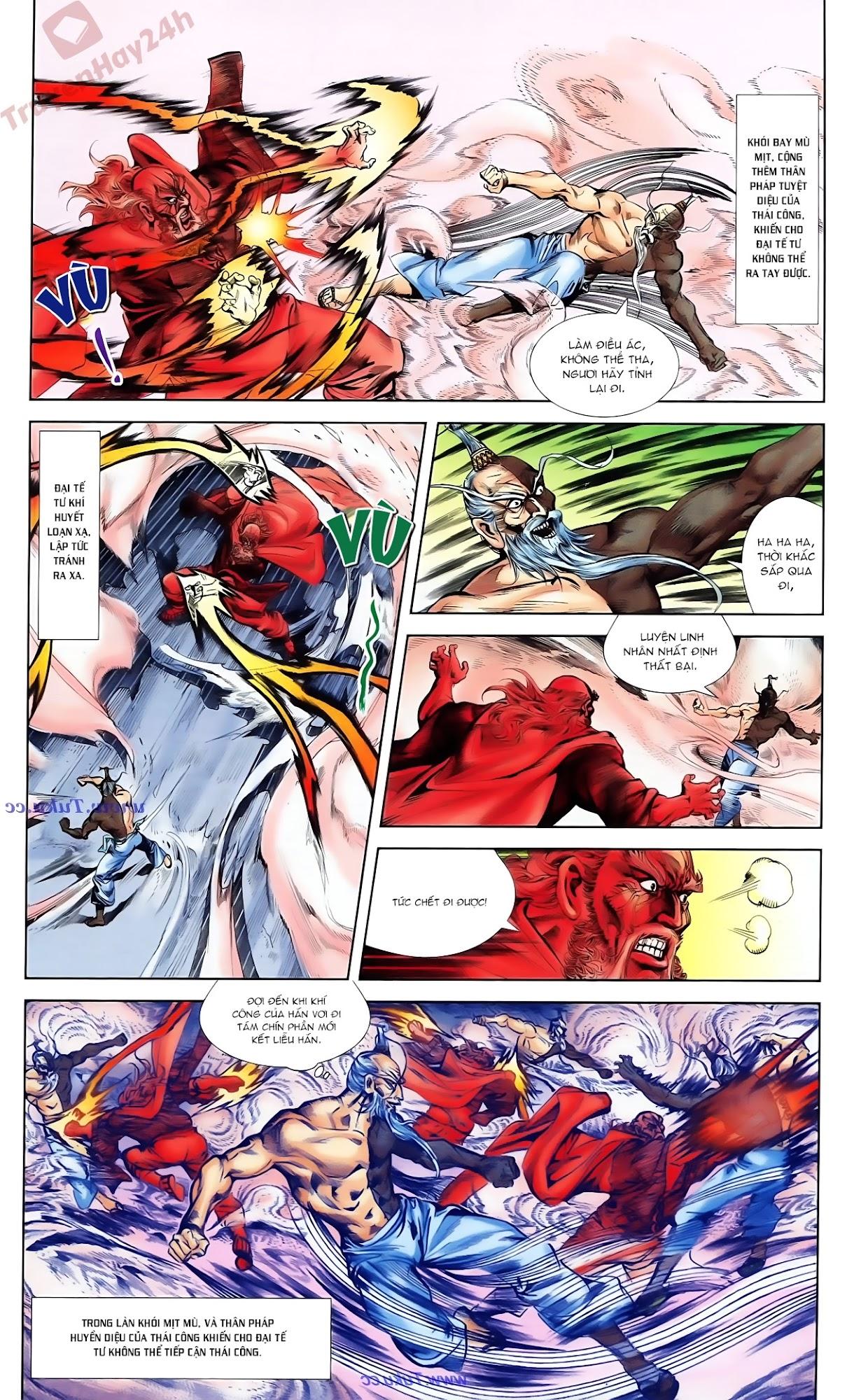 Cơ Phát Khai Chu Bản chapter 82 trang 21