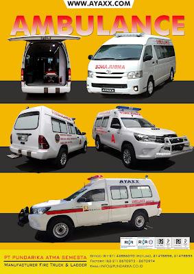 karoseri mobil ambulance