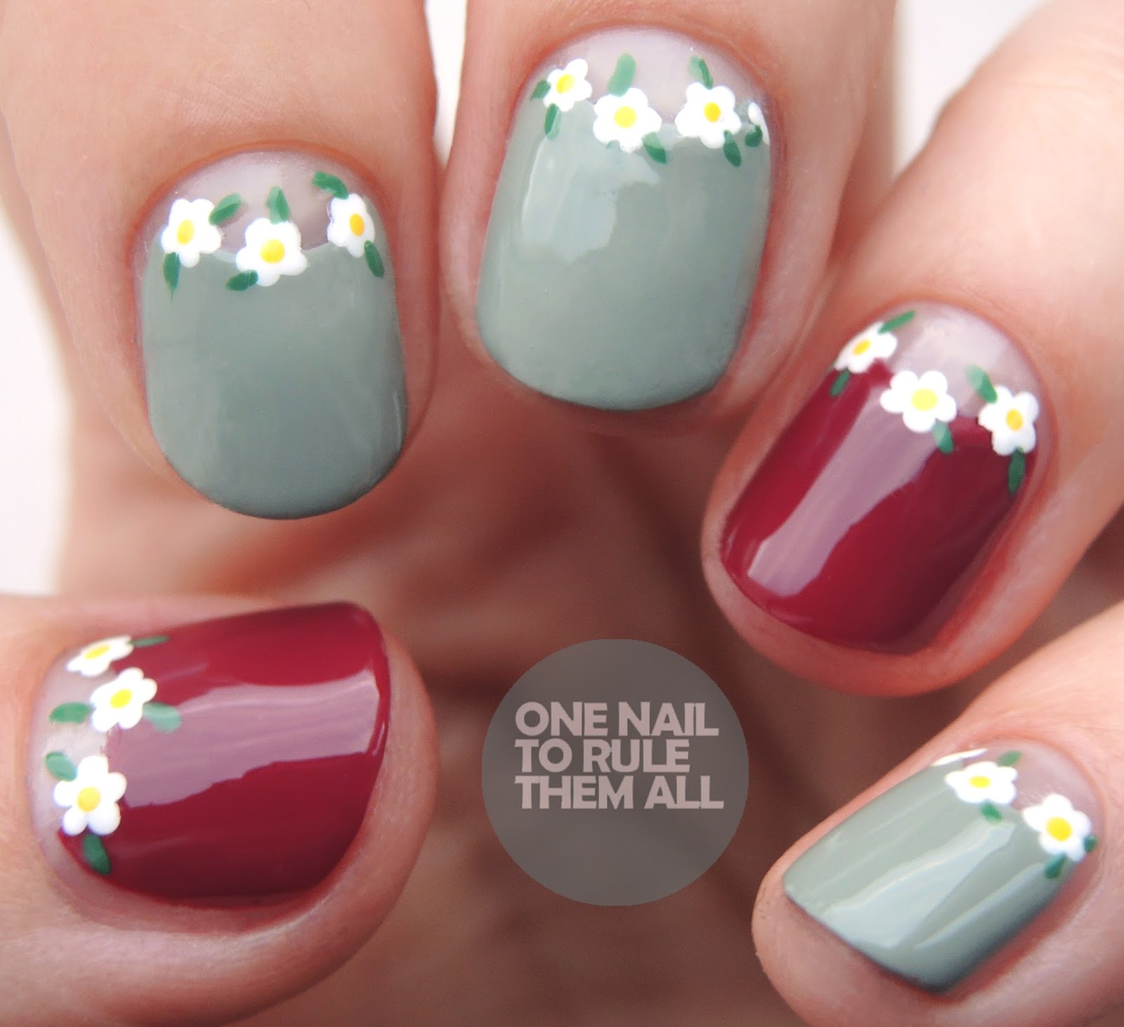 One Nail To Rule Them All Morgan Taylor Floral Crowns