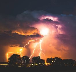 اسماء أصوات السحاب والرعد وحركة السماء