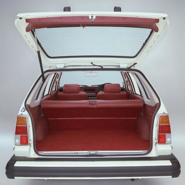 1980 Honda Civic Country Station Wagon Trunk Space