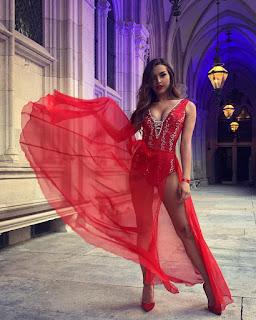 Dominic Thiem E S Girlfriend Lili Paul Roncalli Is Contortionist