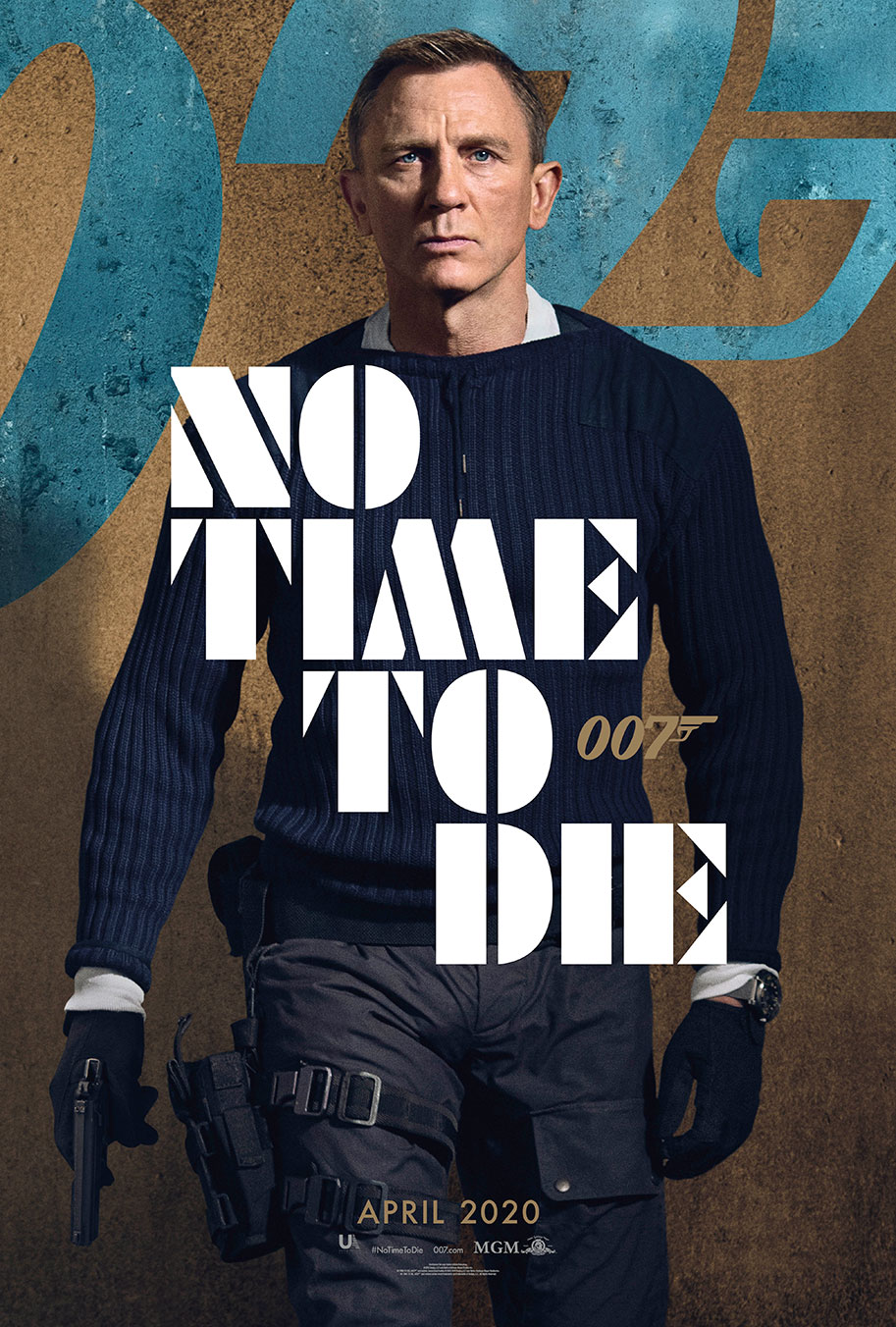 NO TIME TO DIE POSTER (#11 OF 12) - OKAY BHARGAV