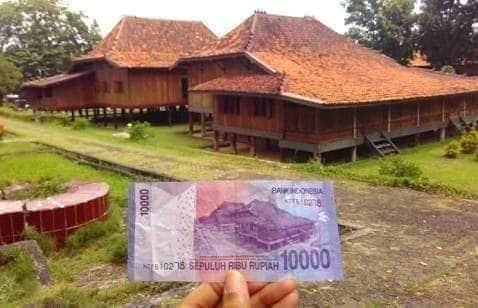 Rumah Limas pada cetakan uang pecahan 10 ribu rupiah menyimpan sejarah bagi Rakyat Indonesia dan Para Bani 'Alawy Dzurriyat Mulia BAGINDA ROSUL SHOLALLAAHU 'ALAYHI WASALLAM.