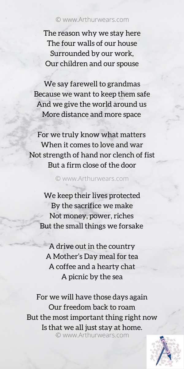 The day the world stayed at home poem