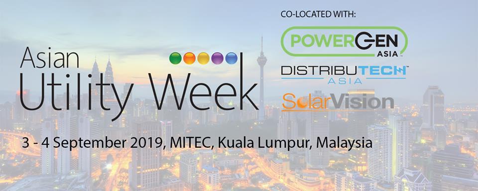 Asian Utility Week MITEC, Kuala Lumpur