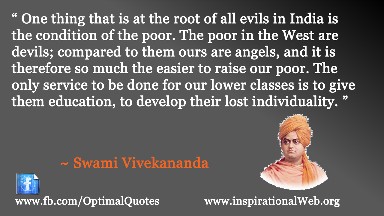 Famous Inspirational Quotes By Swami Vivekananda