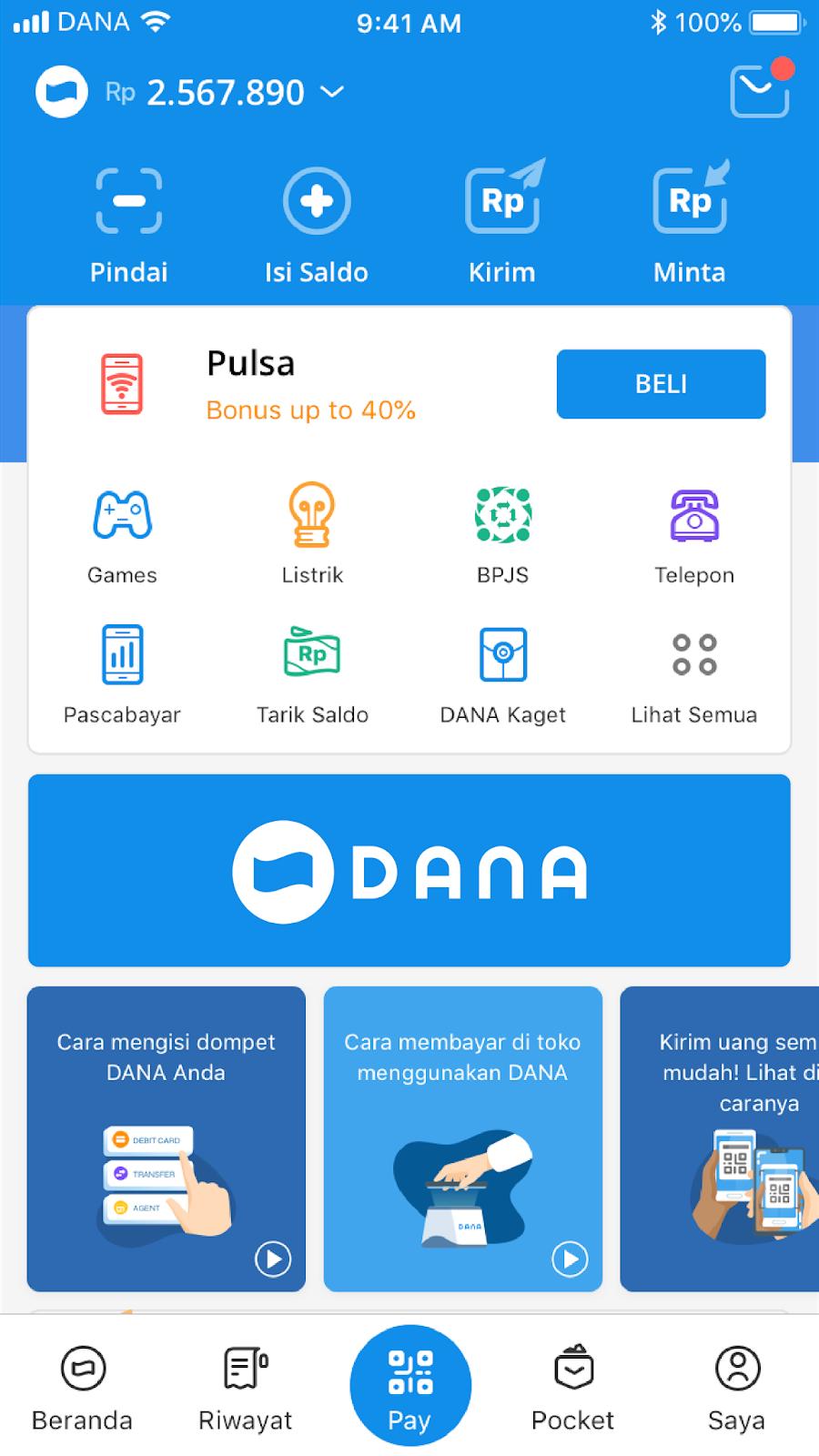 E Tech Profil Perusahaan Dana