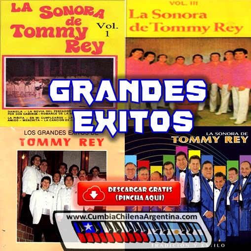 tommy rey exitos