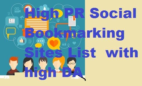 Best Social Bookmarking Submission Websites List for SEO 2020