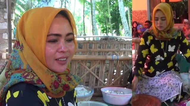 Viral Penjual Rujak Mirip Syahrini di Sumenep, Rujaknya 4 Jam Habis Terjual