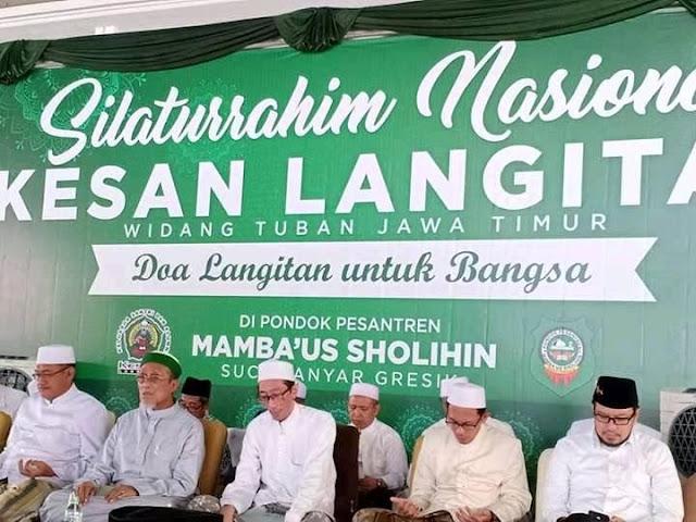 Santri dan Alumni Pesantren Langitan Komitmen Menangkan Jokowi-KH Maruf Amin