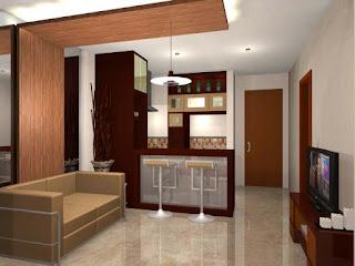ruang tamu apartemn