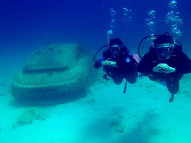 Dicas de Cancun -Museu subaquático de Cancun
