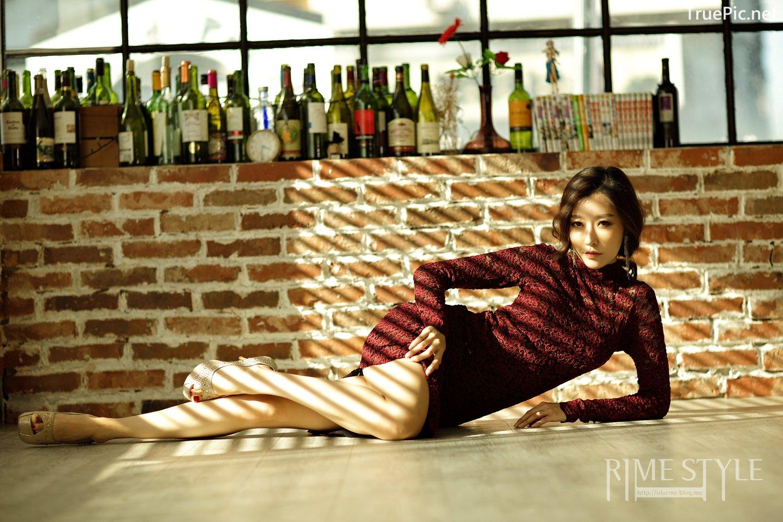 Image Oh Ha Ru Model Beautiful Image - Studio Photoshoot Collection - TruePic.net - Picture-4