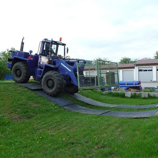 Greatmats heavy equipment ground protection