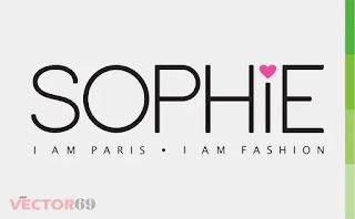 Logo Sophie Paris Baru 2018 - Download Vector File CDR (CorelDraw)