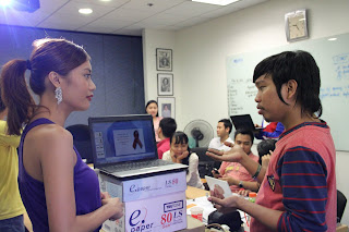 During the taping of iProtect Campaign